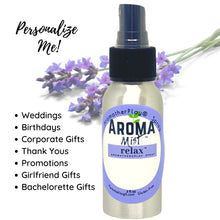 Load image into Gallery viewer, Personalized Essential Room Spray Lavender