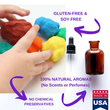 Load image into Gallery viewer, Gluten Free Modeling Playdough Clay 4 lb Natural Scents