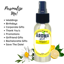 Load image into Gallery viewer, HAPPY! Aromatherapy Room Spray Essential Oils