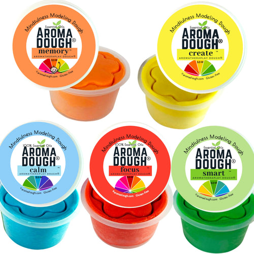 SCHOOL SCENTS 5-Pack Playdough (Gluten-Free) ON SALE!