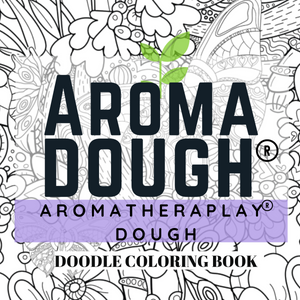 Free Doodle Coloring Book from Aroma Dough Gluten-Free Playdough