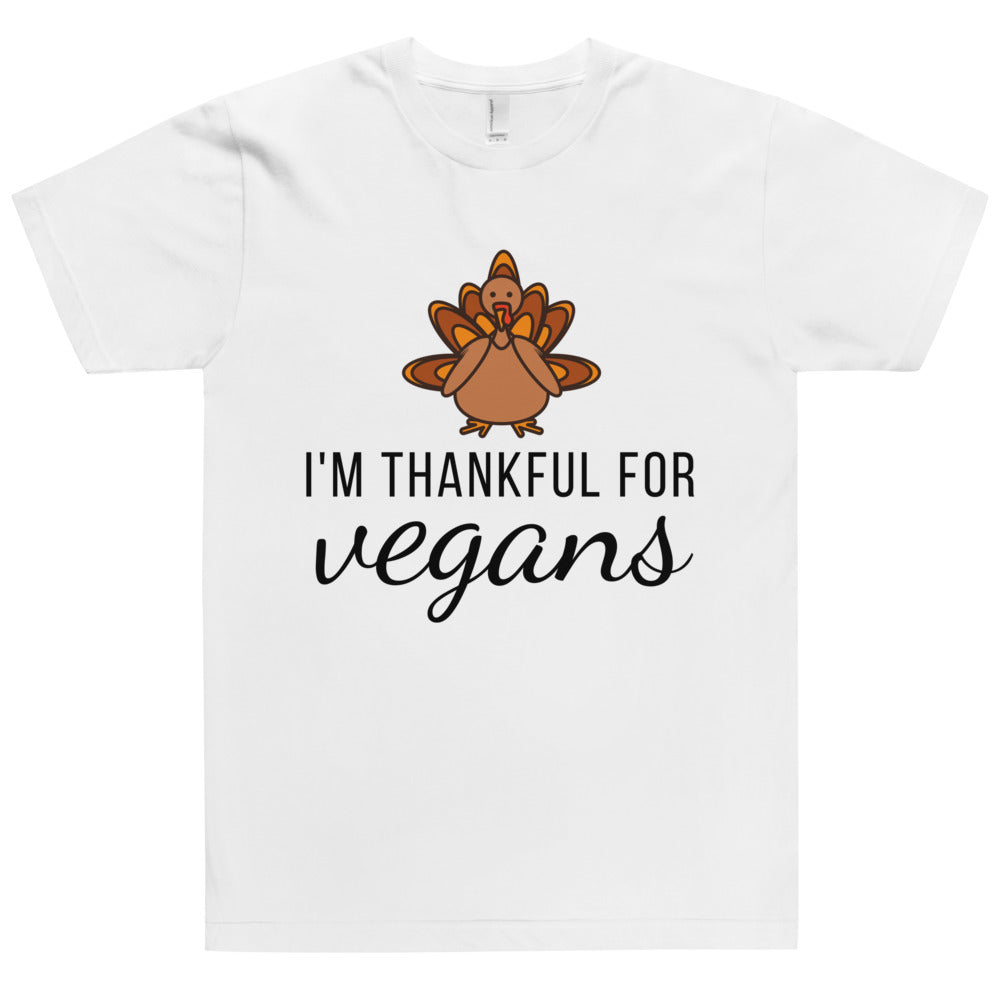Thankful For Vegans T-Shirt