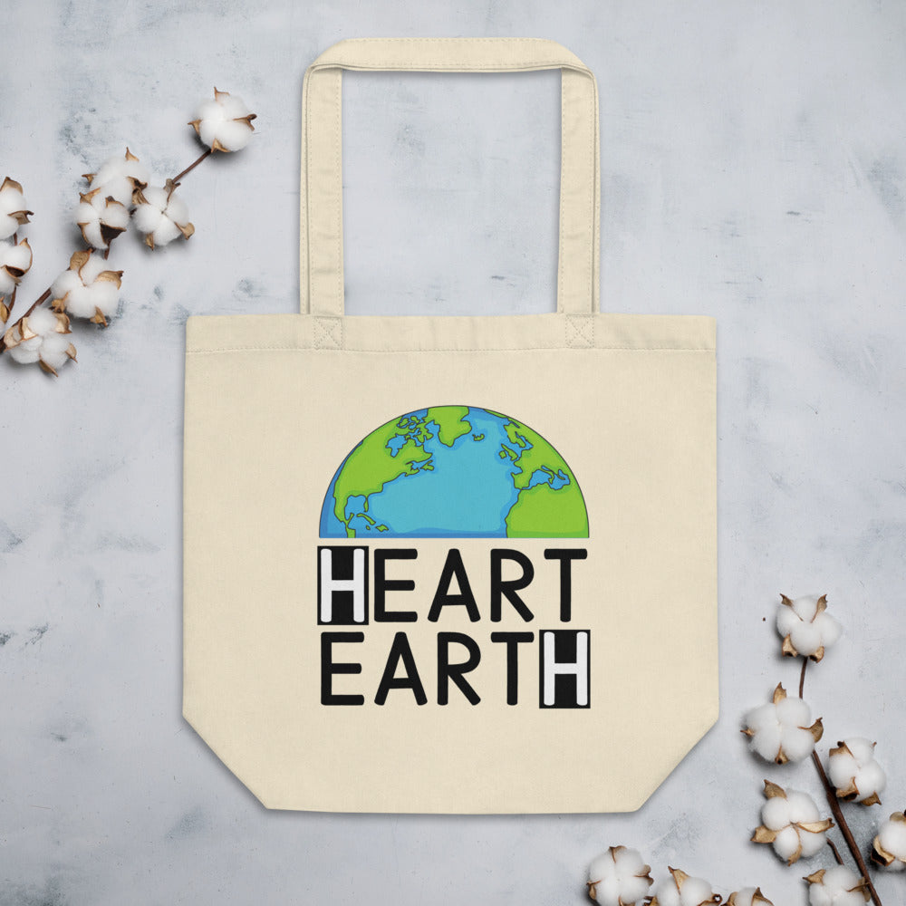 Heart Earth Eco Tote Bag
