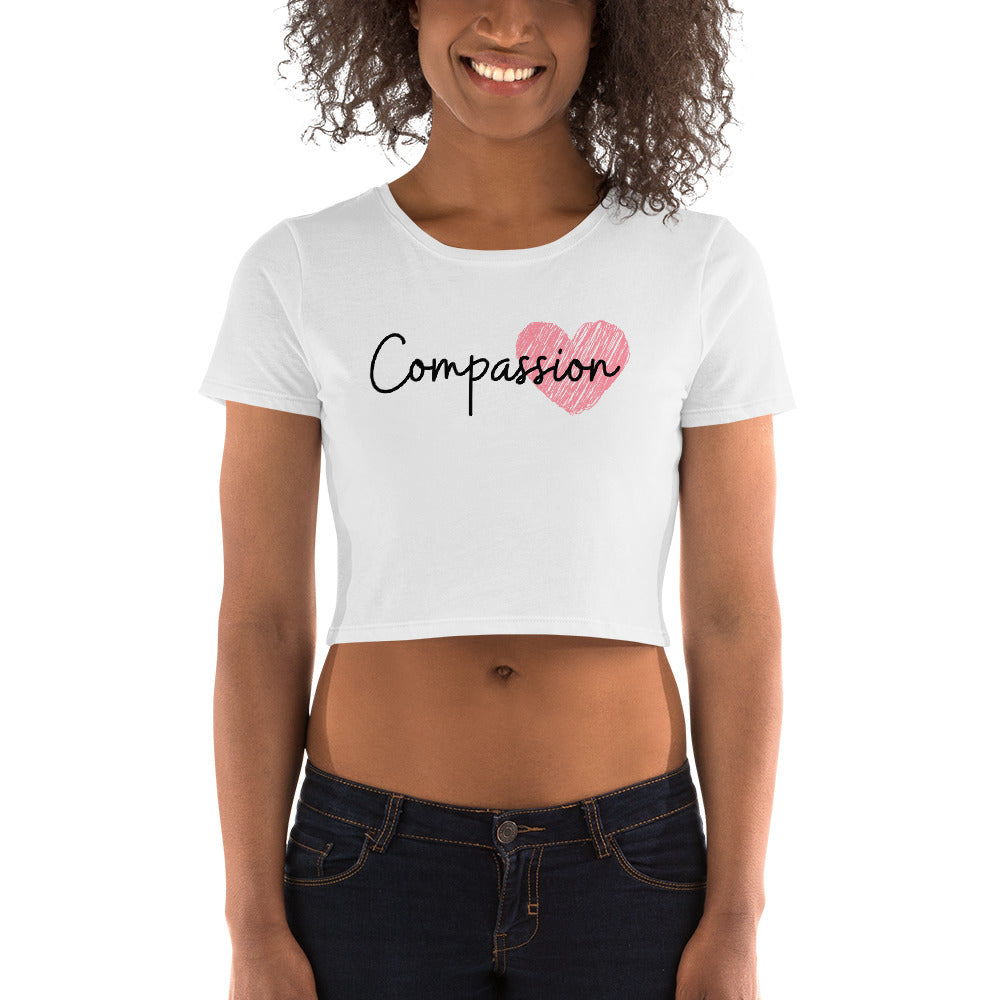 Compassion Women's Crop Tee