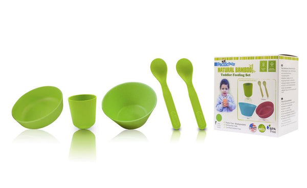 Bamboo Feeding Set - Toddler