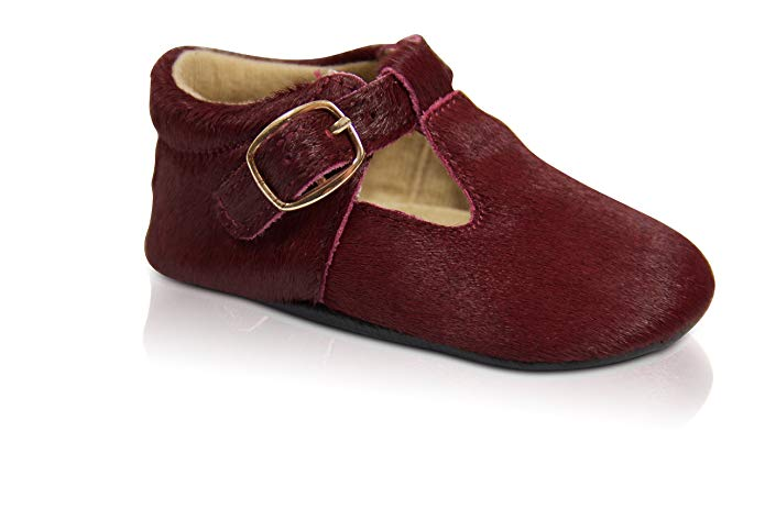 Burgundy Mary Janes