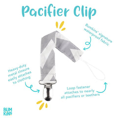 Pacifier Clip 2 Pack: Bird Park & Urban Bird