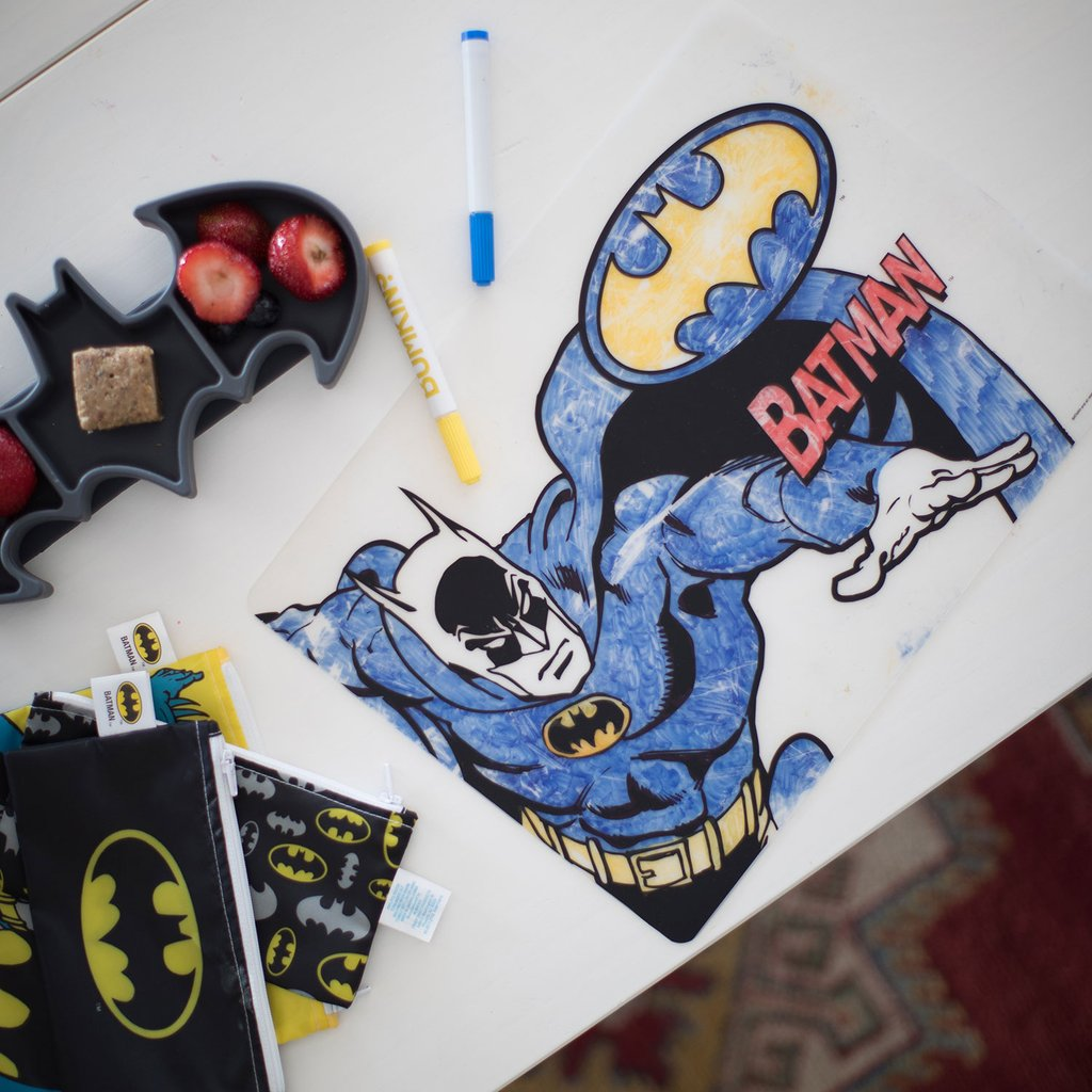 DC Comics Silicone Coloring Placemat - Batman