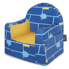 Little Reader Chair - Comic Book: Blue, Light Blue