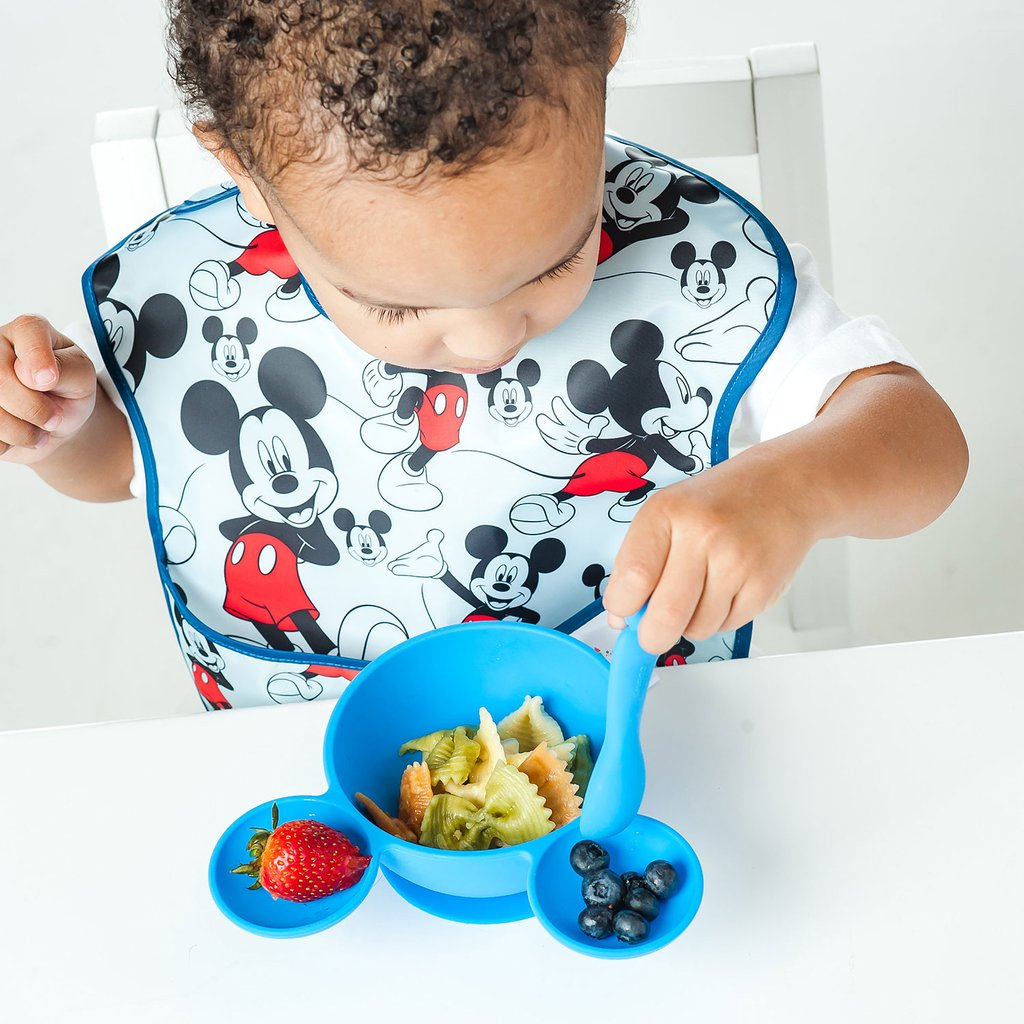 Disney Silicone Suction First Feeding Set