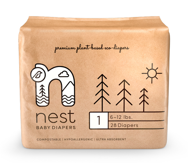 Natural Plant-Based Diapers