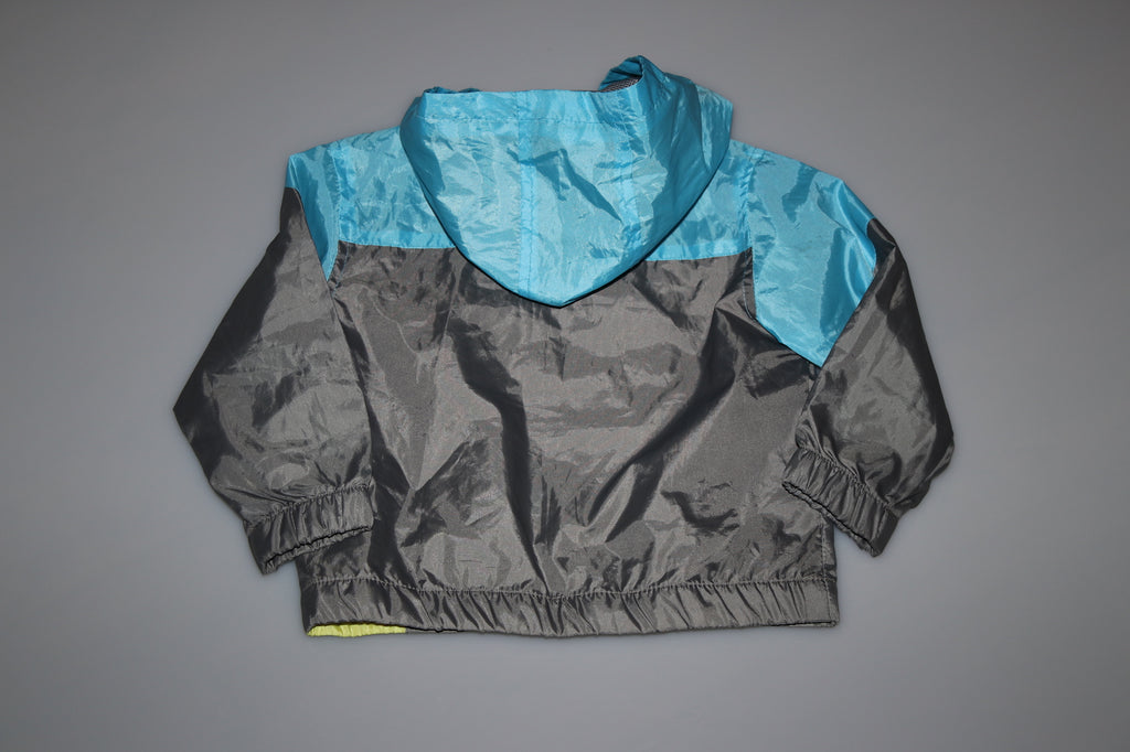 Hooded Mesh Lined Windbreaker - Kiwi'z Klozet