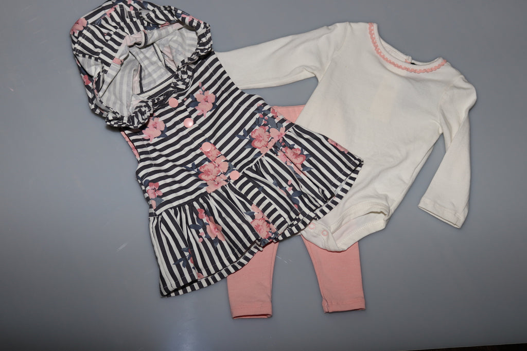 3pc Onesie/Pant/Jacket Set