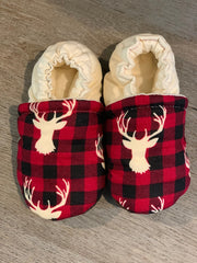 Holiday Plaid Reindeer