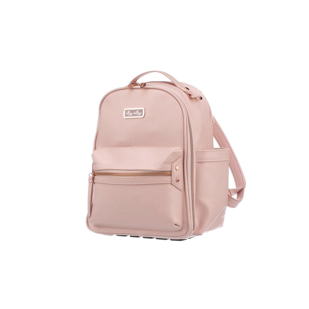 Blush Mini Diaper Bag Backpack - Kiwi'z Klozet