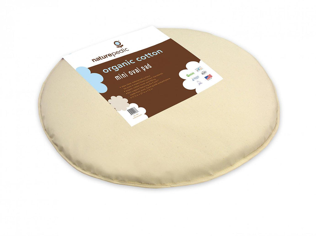 Bassinet Pad Oval (fits Stokke® Sleepi™ Mini - 23 x 29 x 1)