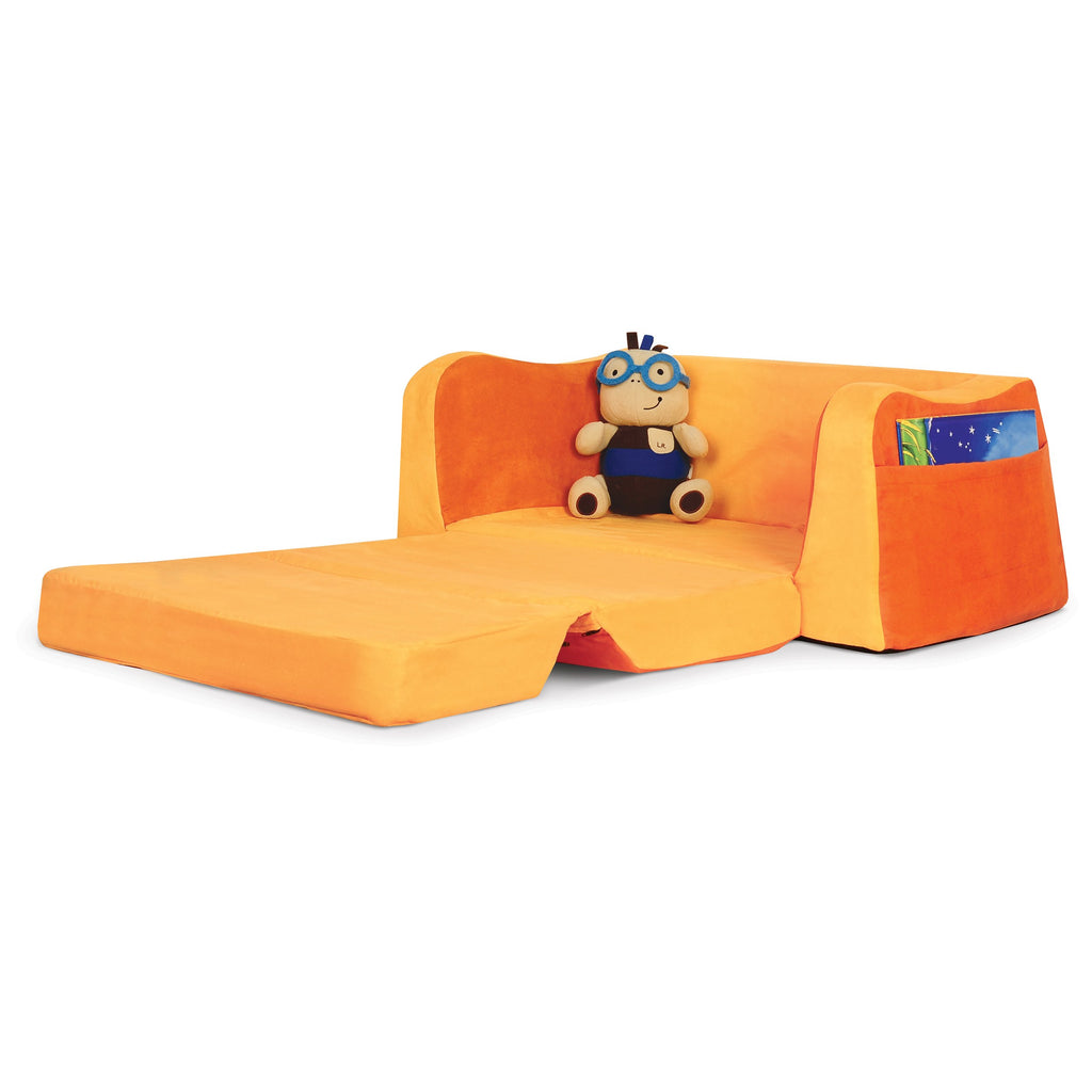 Little Reader Sofa Lounge - Two Tone Orange