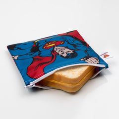 DC Comics Reusable Snack Bag, 3 Pack: Superman