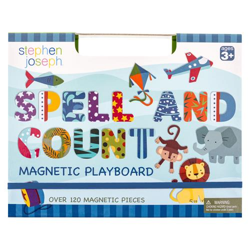 Spell & Count Magnetic Playboard
