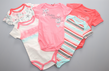 Assorted Onesie Set - Multi 5pc - Kiwi'z Klozet