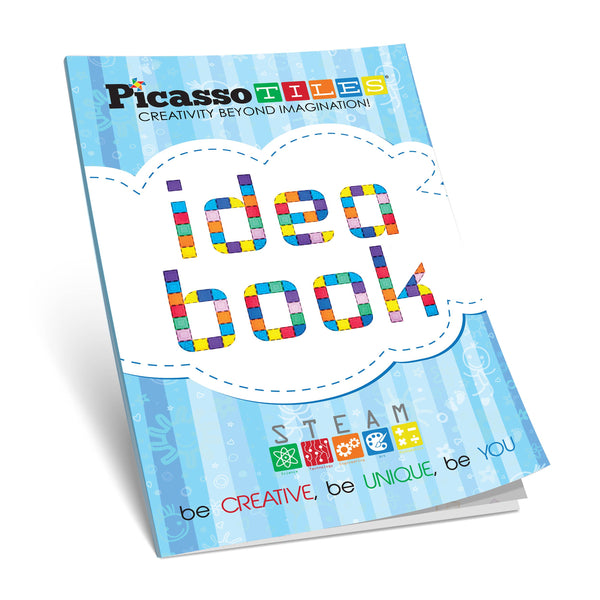PicassoTiles - PicassoTiles Idea Book with 90+ Structure Idea