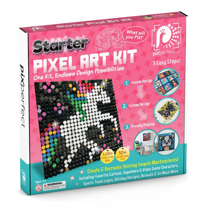 Pix Perfect™ Starter Pixel Art Kit
