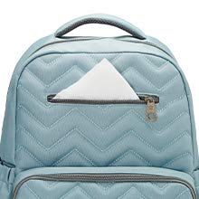 Blake Diaper Backpack 5pc Set - Chevron Tote
