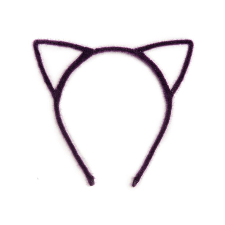 Cat Ears Headband - Purple