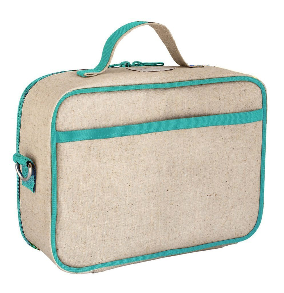 Olive Fox Lunch Box - Raw Linen