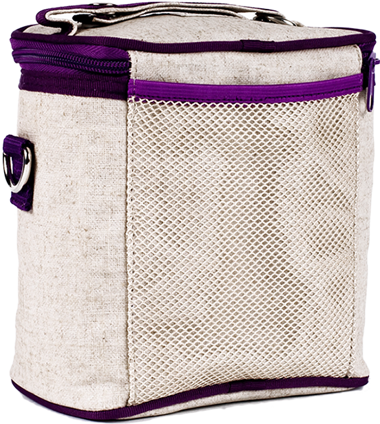 Purple Dandelion Cooler Bag (Large)
