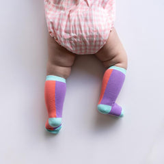 Spring Sunset Knee Highs