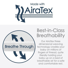 Nuzzle Baby Lounger with AiraTex -  Hello World