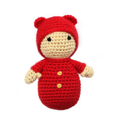 Baby Bear w/Hat - Red