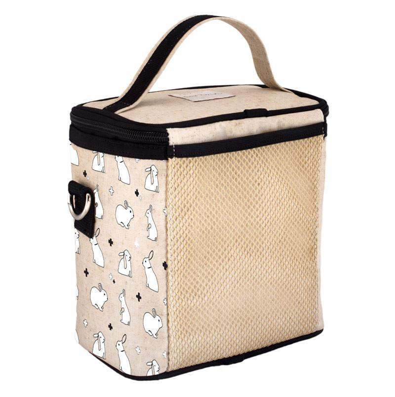 Bunny Tile Cooler Bag (Small) - Raw Linen