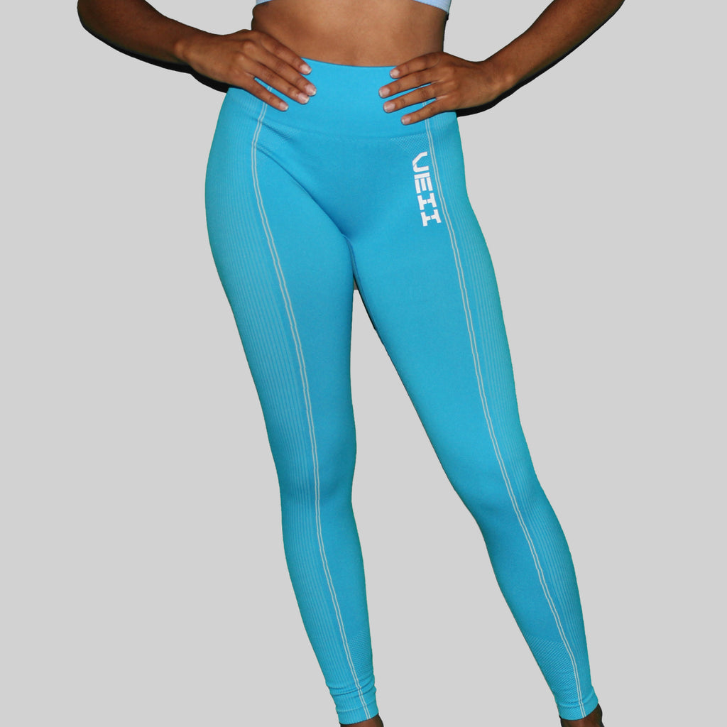 Surge Seamless Leggings - Blue