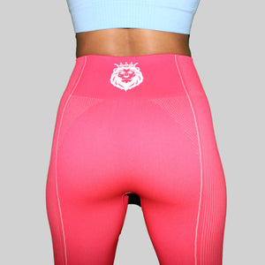 Surge Seamless Leggings - Hot Pink