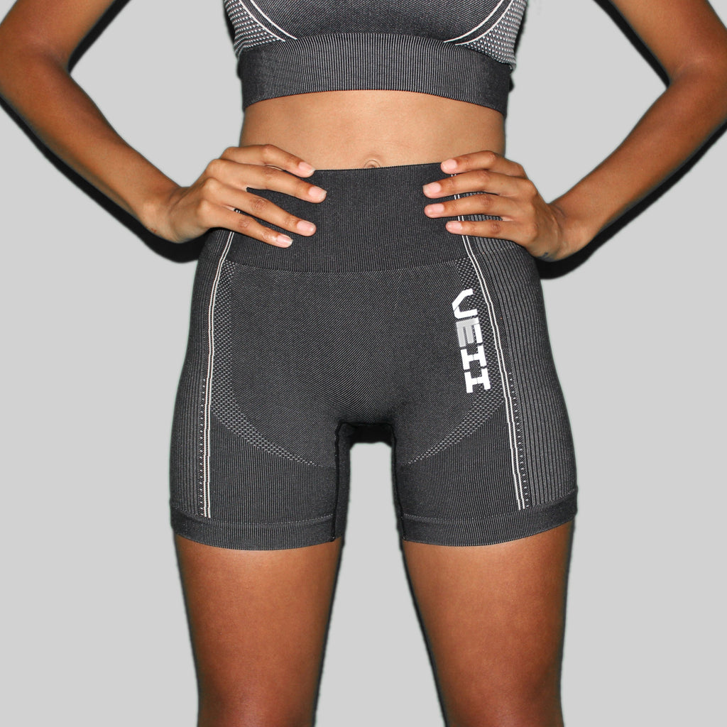 Surge Seamless Shorts - Black