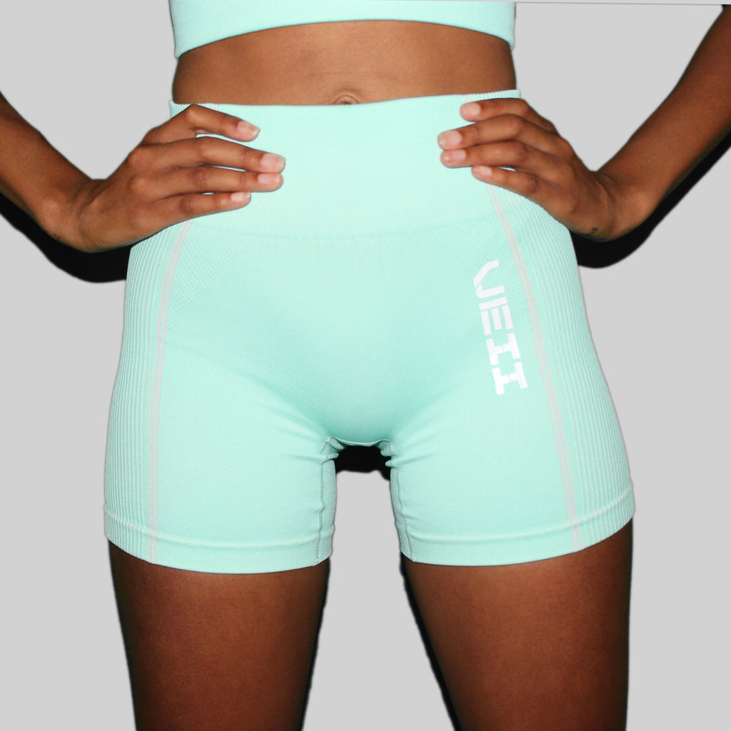 Surge Seamless Shorts - Green