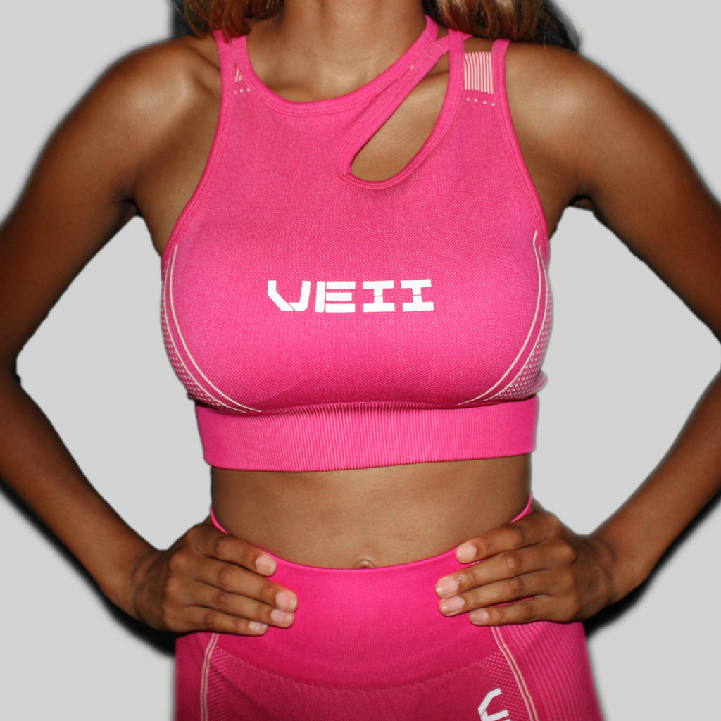 Surge Seamless Sports Bra - Pink