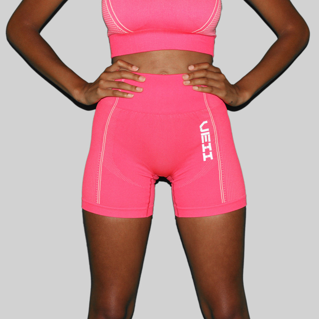 Surge Seamless Shorts - Hot Pink