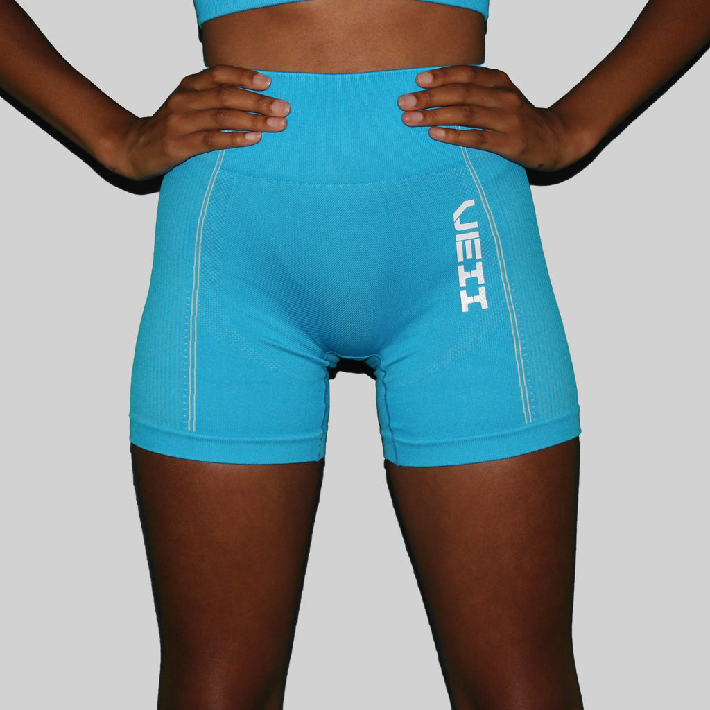 Surge Seamless Shorts - Blue