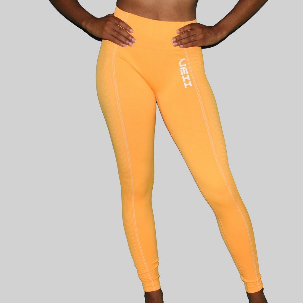 Surge Seamless Leggings - Orange