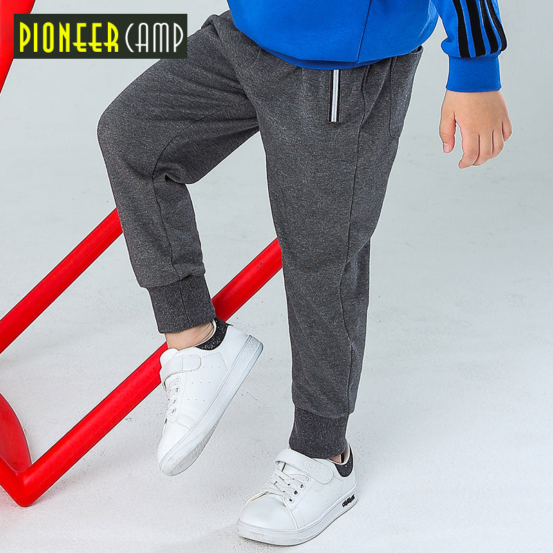 modern and elegant in fashion new varieties official store Pioneer kids new spring sweatpants for boys children trousers fashion  zipper knitted pants boys quality joggers boys BZZ810029