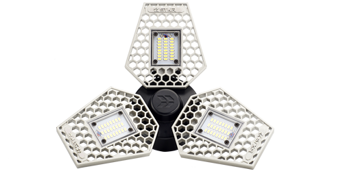 LED Garage Lighting Solutions by STKR Concepts