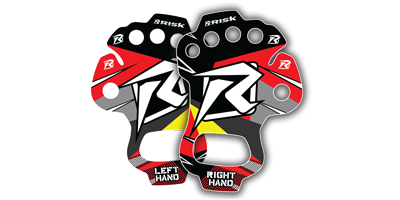 Risk Racing Palm Protectors - protect your hands from blisters and vibration
