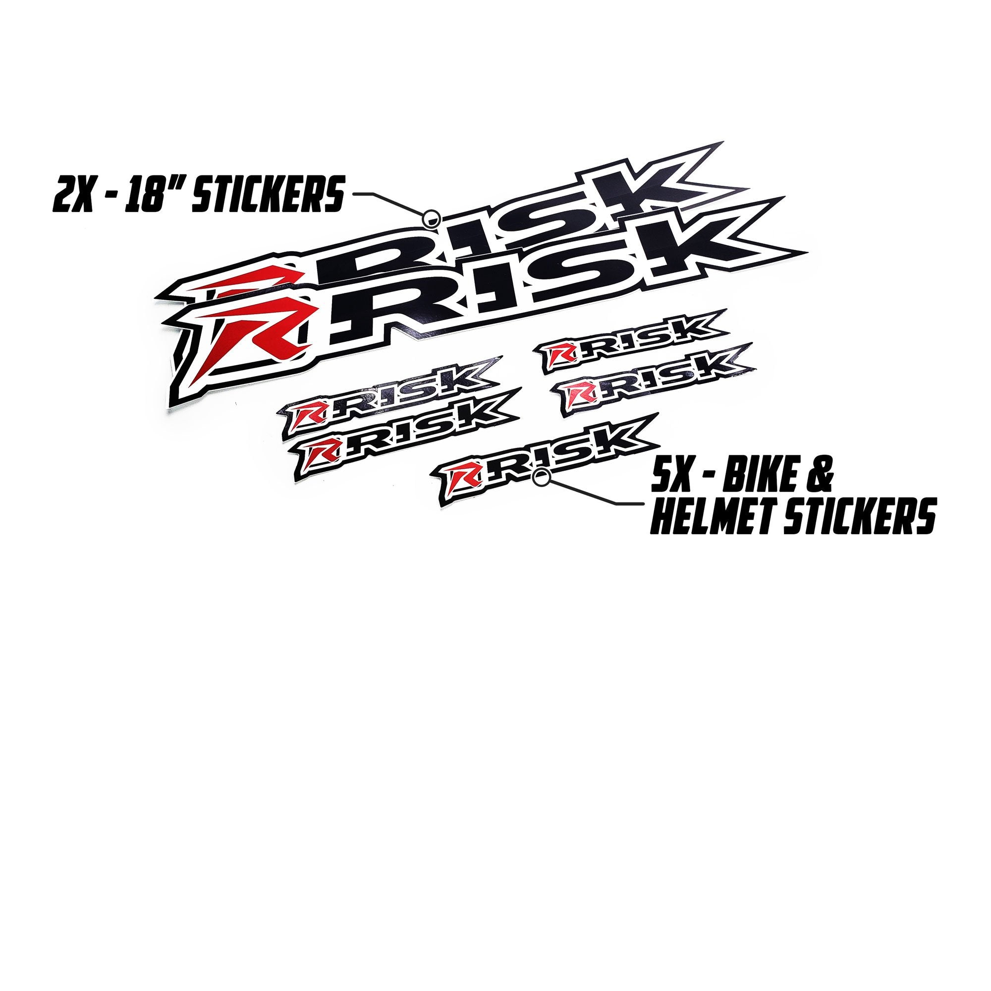 Moto Sticker Pack by Risk Racing