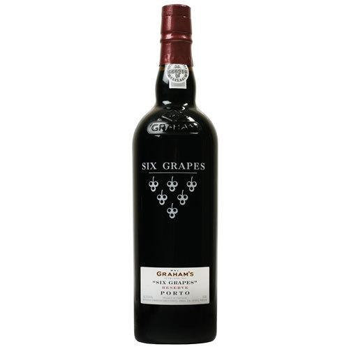 GRAHAM'S SIX GRAPES PORTO 750M