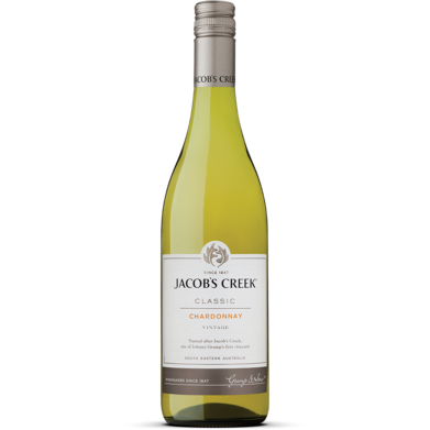 JACOB'S CREEK CHARD 750ML