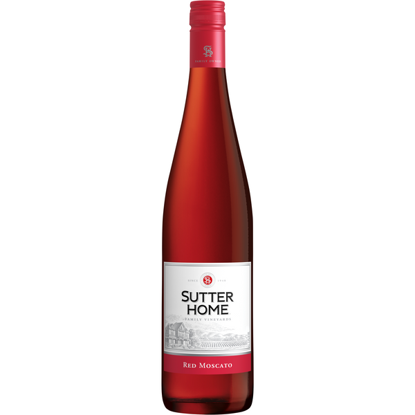 SUTTER HOME RED MOSCATO 1.5ML
