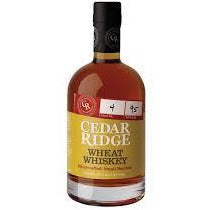 CEDAR RIDGE WHEAT WHISKEY 80PF